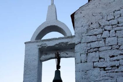 Bell tower on Paxos