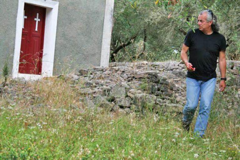 Spiros Taxidi olive groves