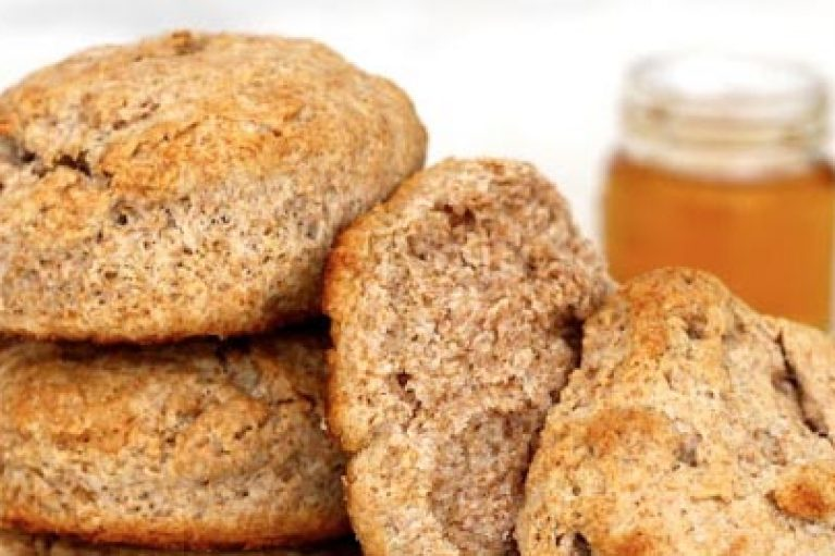 Honey Macaroni Biscuits