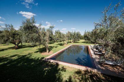 Villa Mauresque, Marrakech, Morocco.  Photo by Alan Keohane www.still-images.net