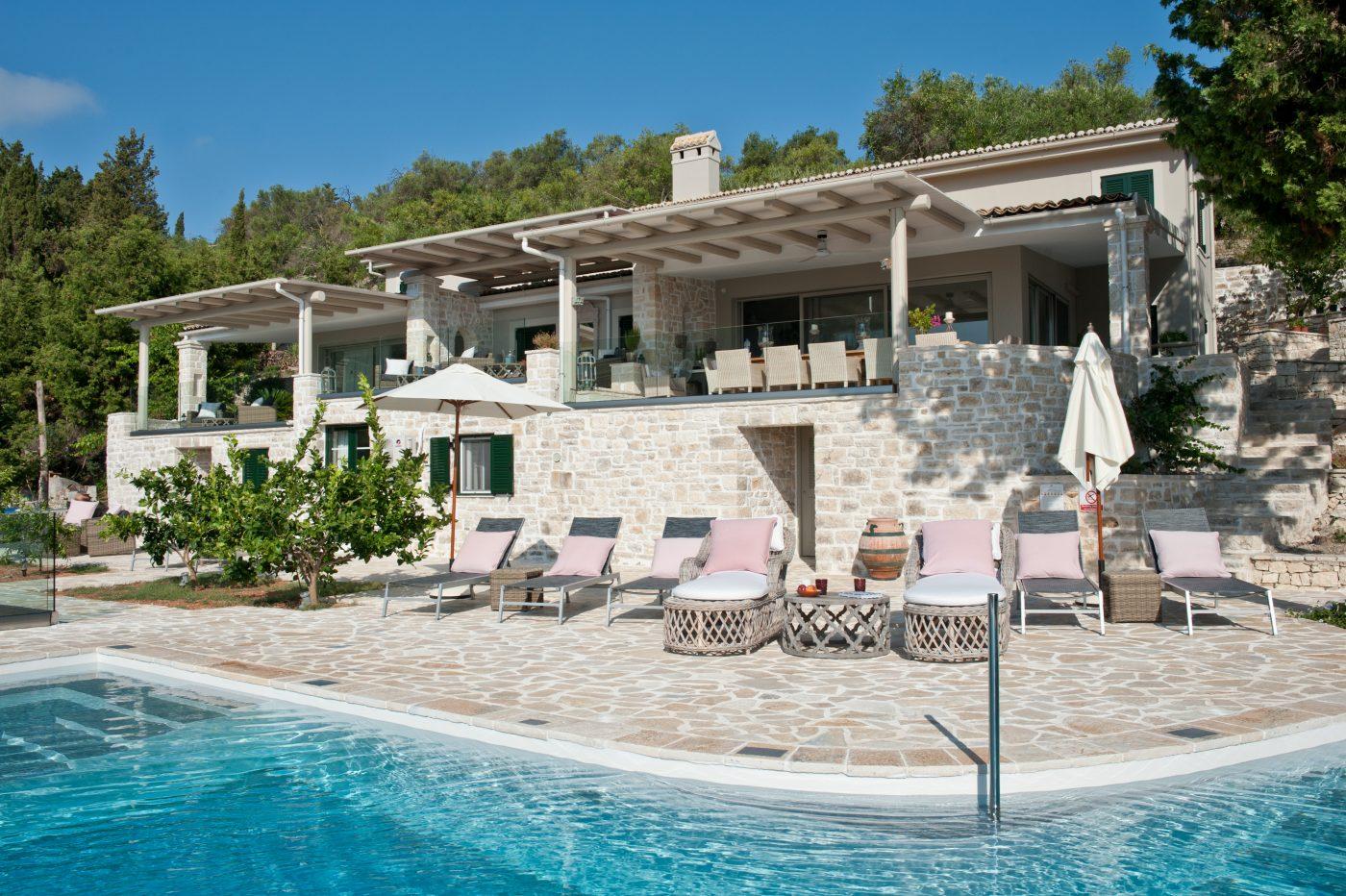 Kipos Beach House A Stunning Villa In Paxos Greece To