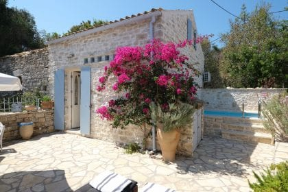 Aspro Alogo Zernatika Villa Paxos Greece Marc & Philippa Lanstone Construction