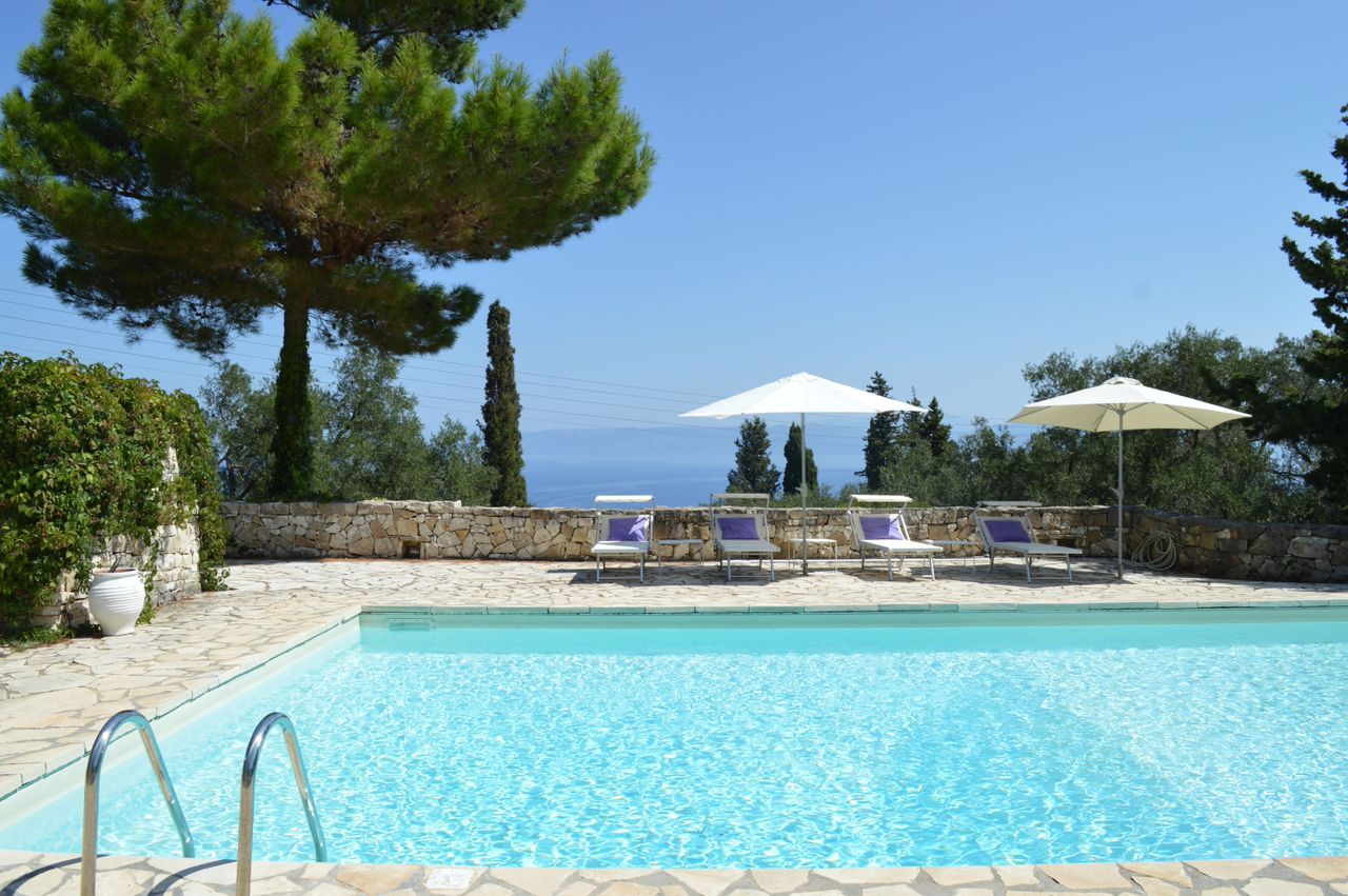 Koukla House A Luxury Villa In Paxos Greece To Sleep 4 People