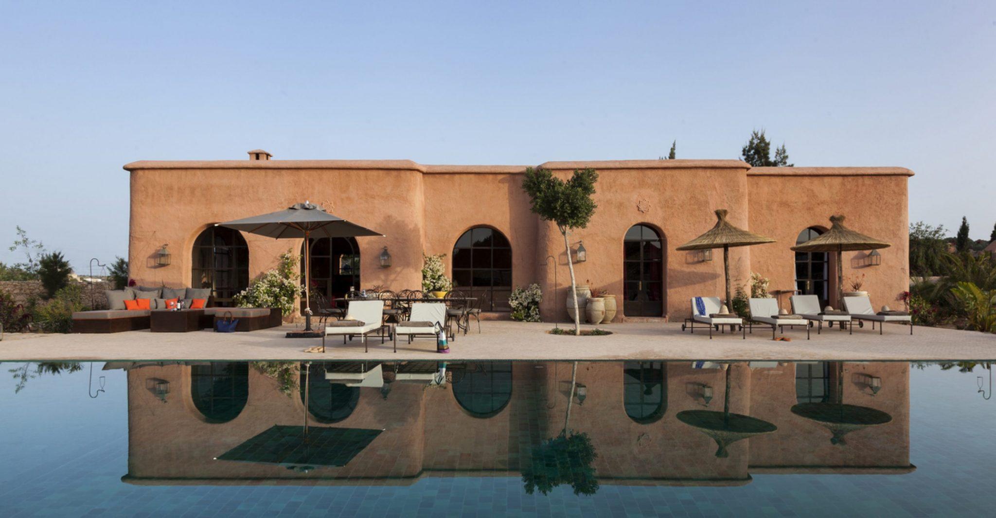 Villa patio a stunning villa in essaouira morocco to - Les jardins de villa maroc essaouira ...