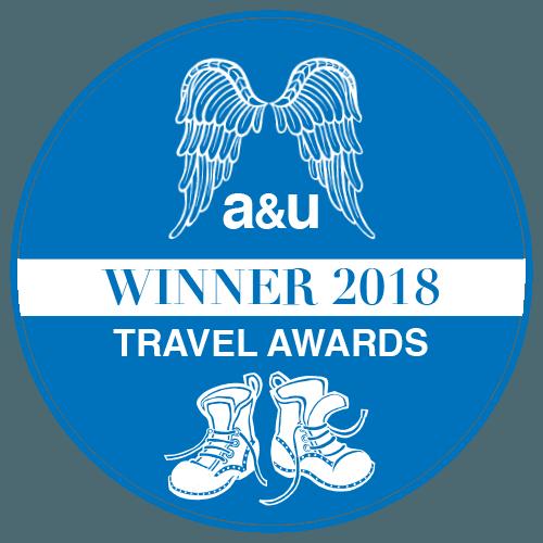 A&U Travel Award Winner 2018