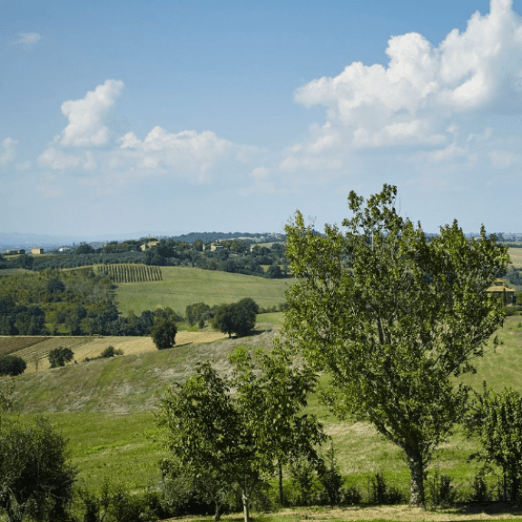 Umbria countryside, Easter holidays