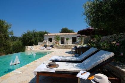 Cavallino Villa Gramatakeika Paxos Greece Marc & Philippa Lanstone Construction